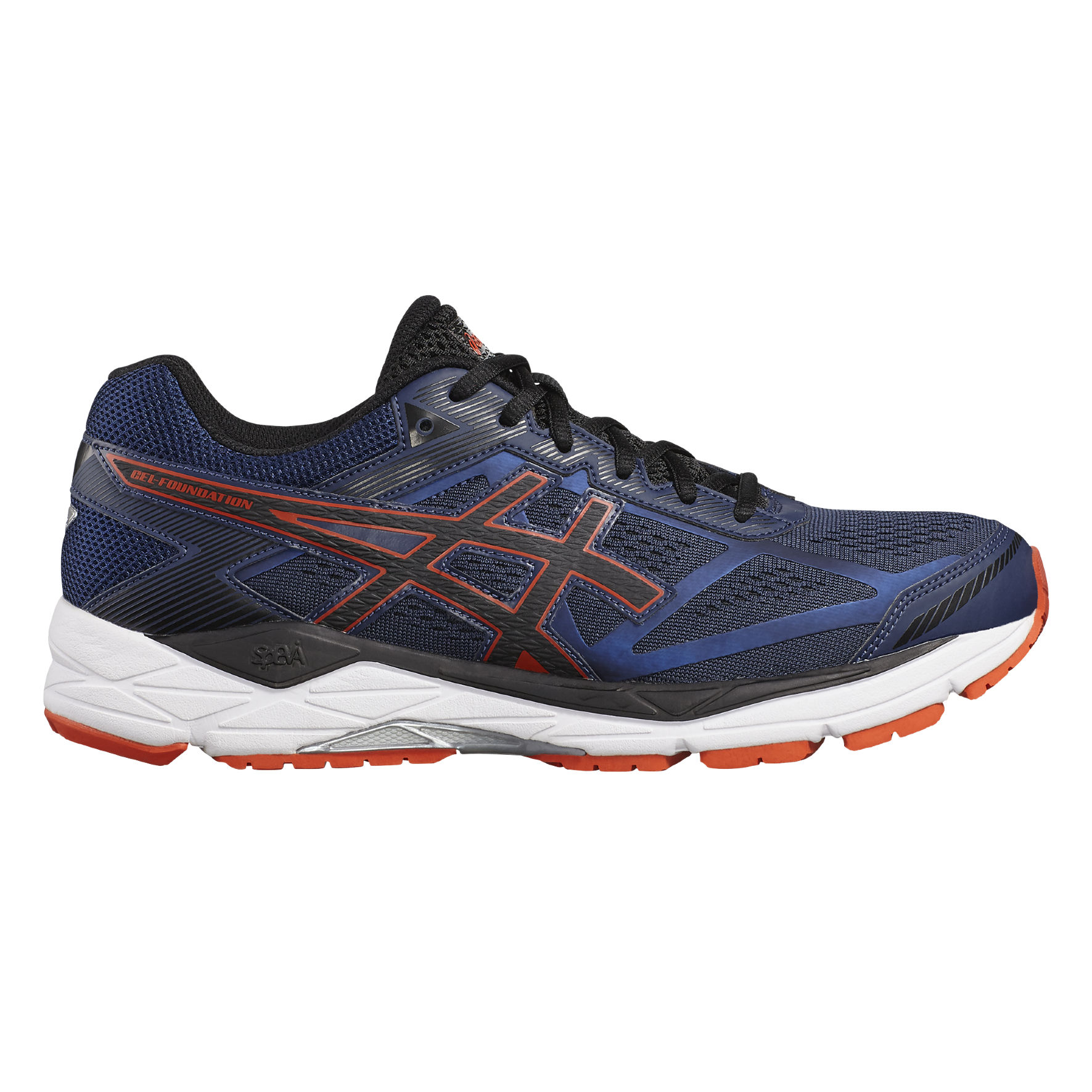 Asics Gel Foundation 12 2E in Dunkelblau