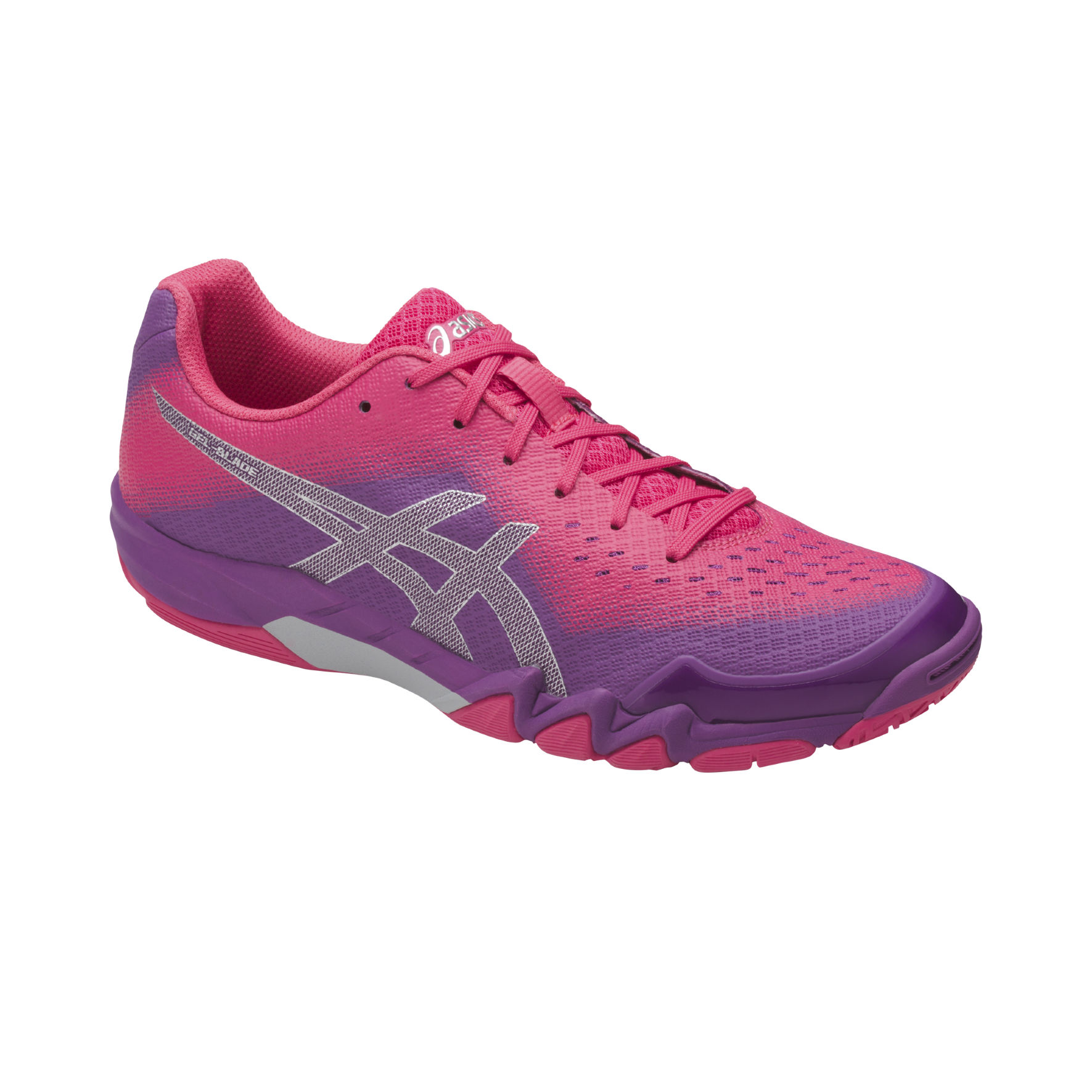Asics Lady Gel Blade 6 in Prune Rouge Red