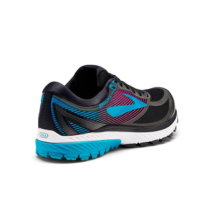 Brooks Lady Ghost 10 GTX in Black Peacock