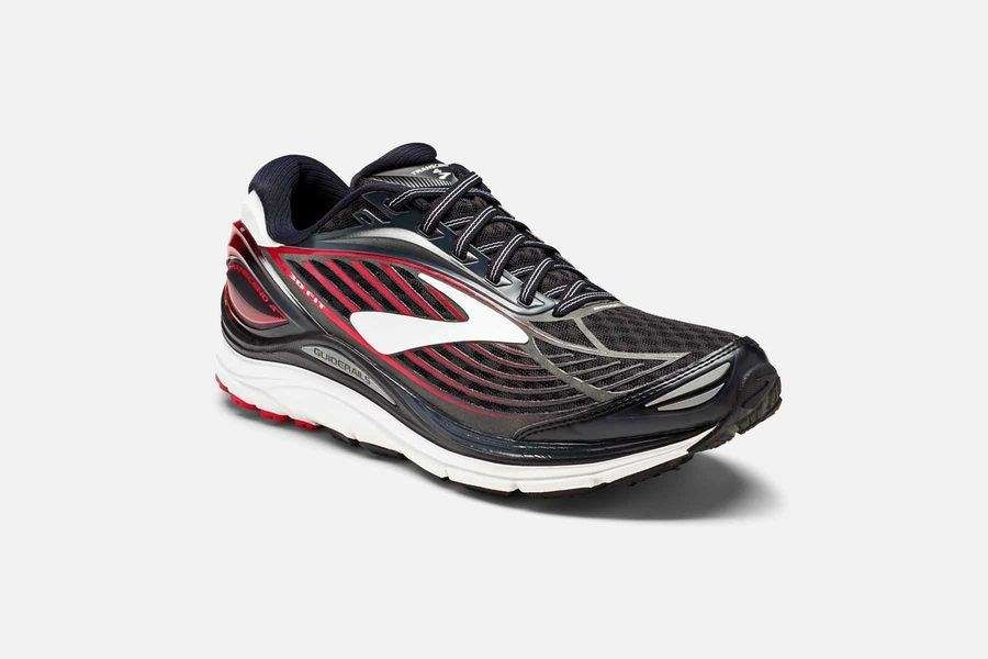 Brooks Transcend 4 in Schwarz Rot
