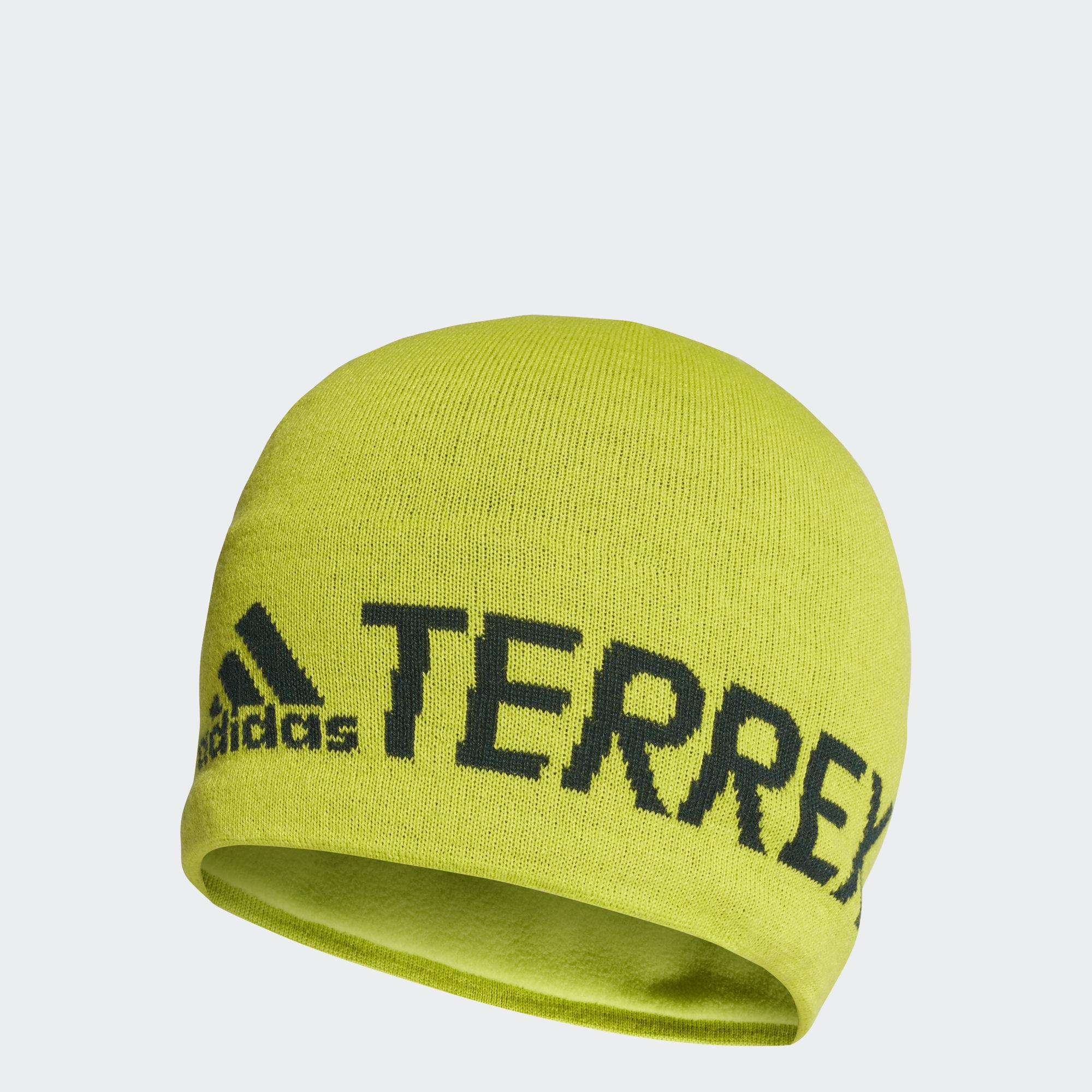 adidas Terrex Logo Beanie in Grün