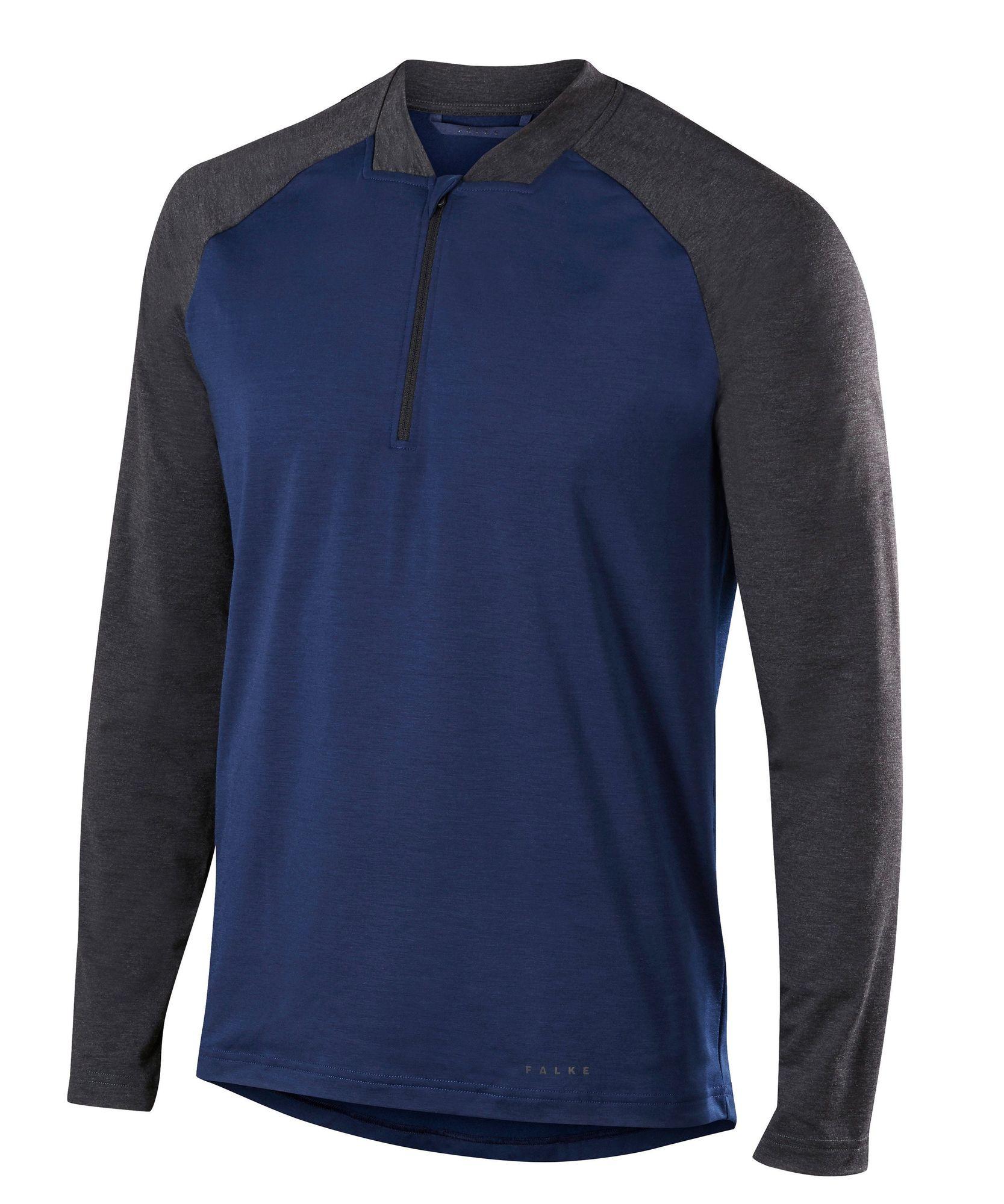 Falke Running Langarmshirt in Blau