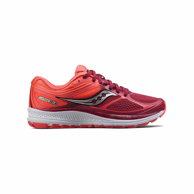 Saucony Lady Guide 10 in Berry Coral