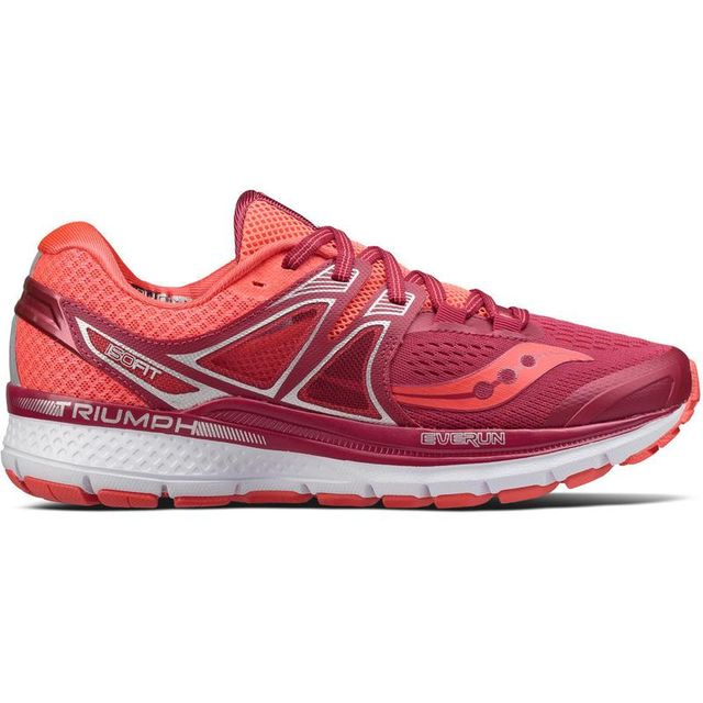 Saucony Lady Triumph ISO 3 in Berry Coral