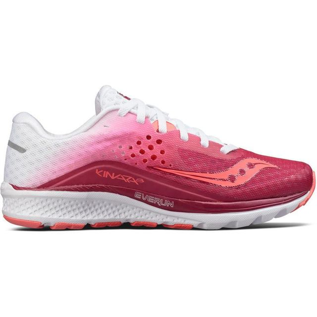 Saucony Lady Kinvara 8 in Berry White
