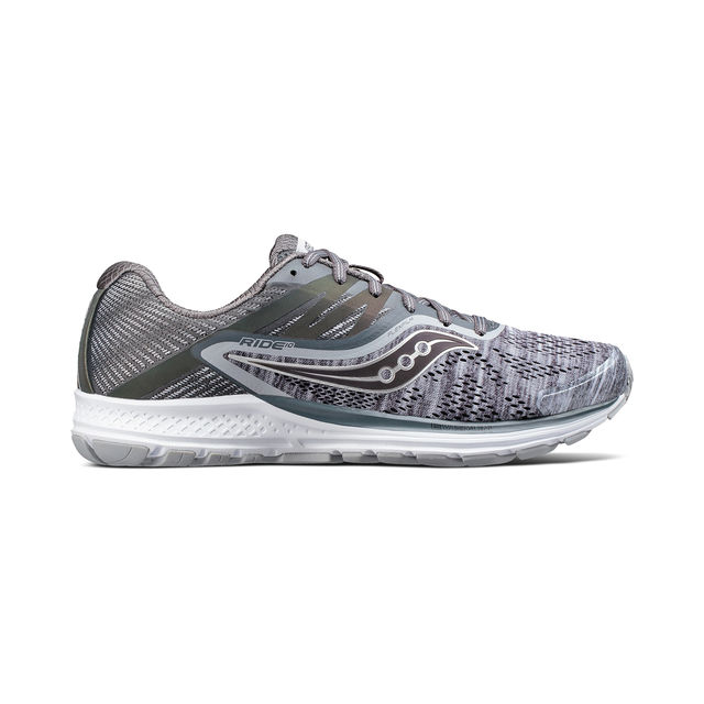Saucony Ride 10 RunLife in Heathered Chroma