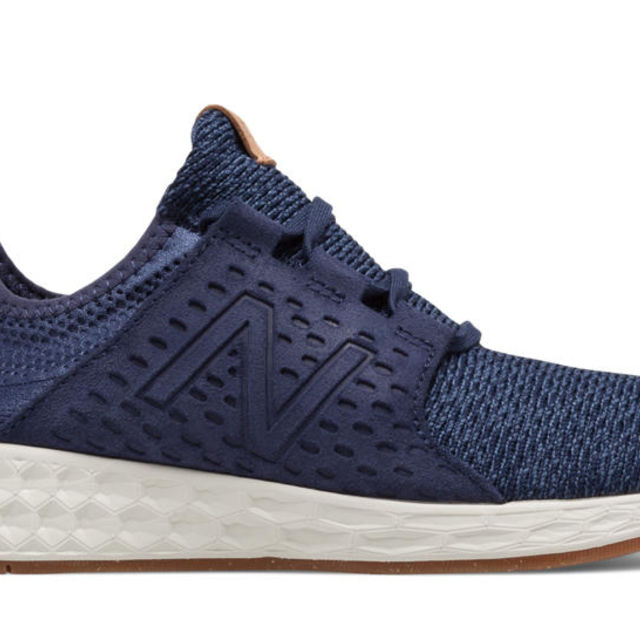New Balance Lady Fresh Foam Cruz v1 in Indigo /Sea Salt