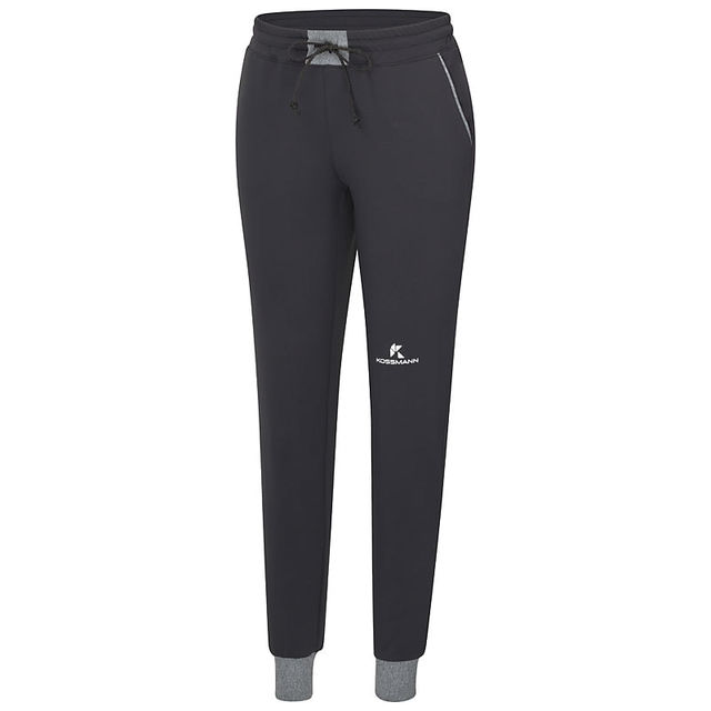 Kossmann Damen Winter Jogger in Schwarz Grau