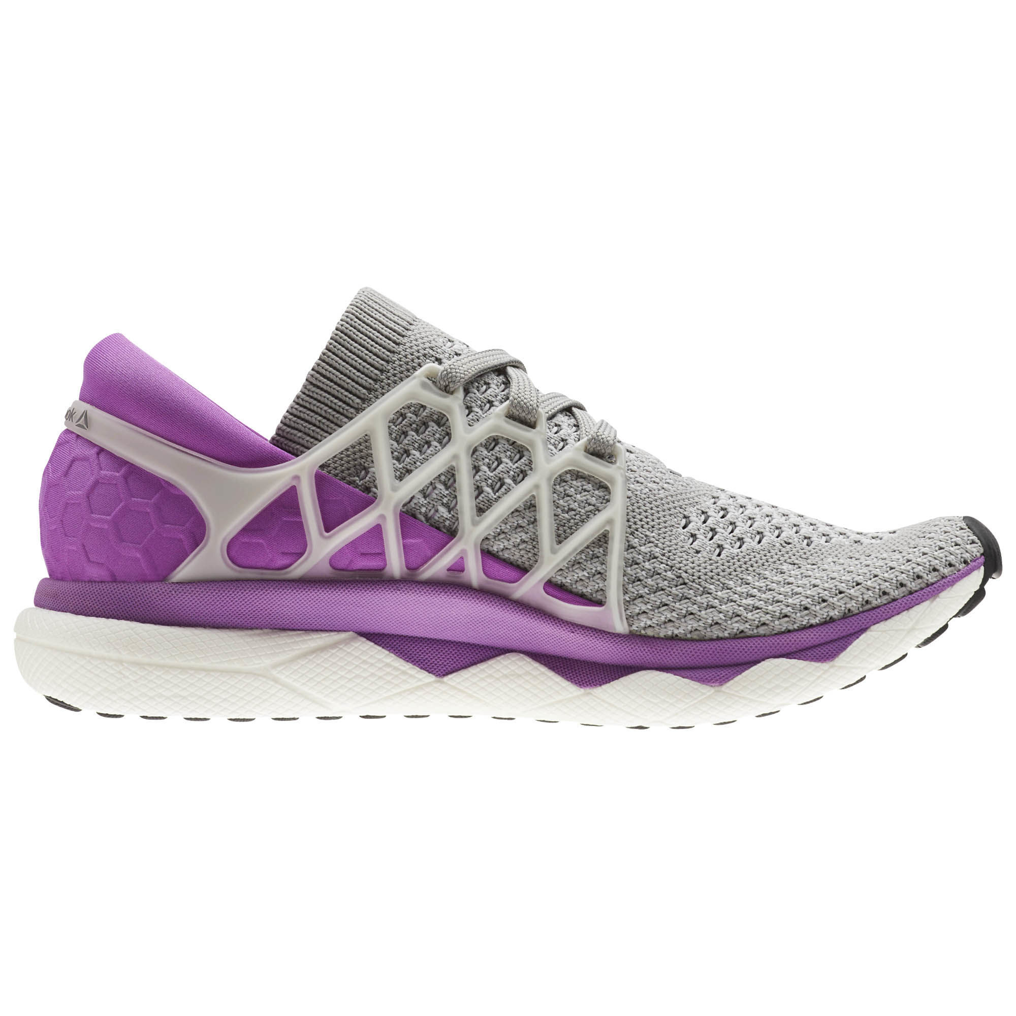 Reebok Lady Floatride Run Ultraknit in Grau Violett