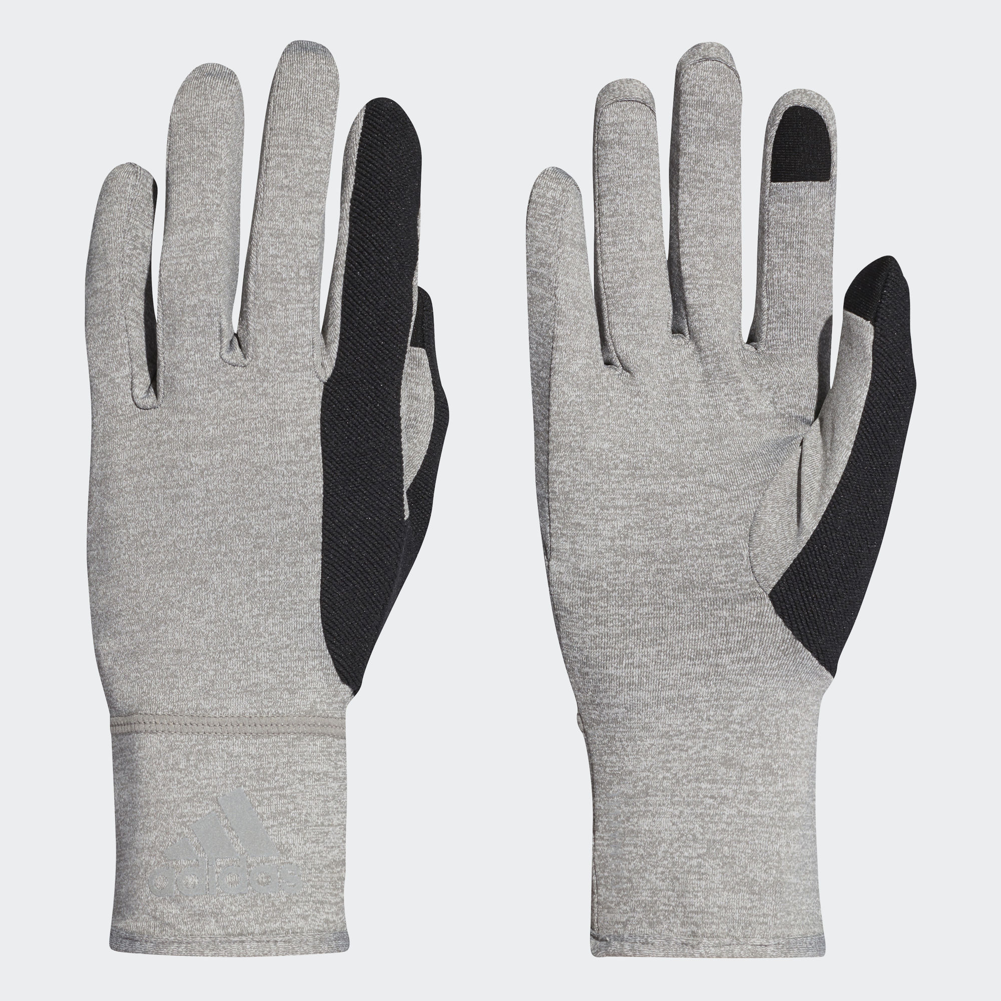 adidas Climalite Gloves in Grau