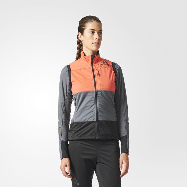 adidas Xperior Vest w in Lachs Grau