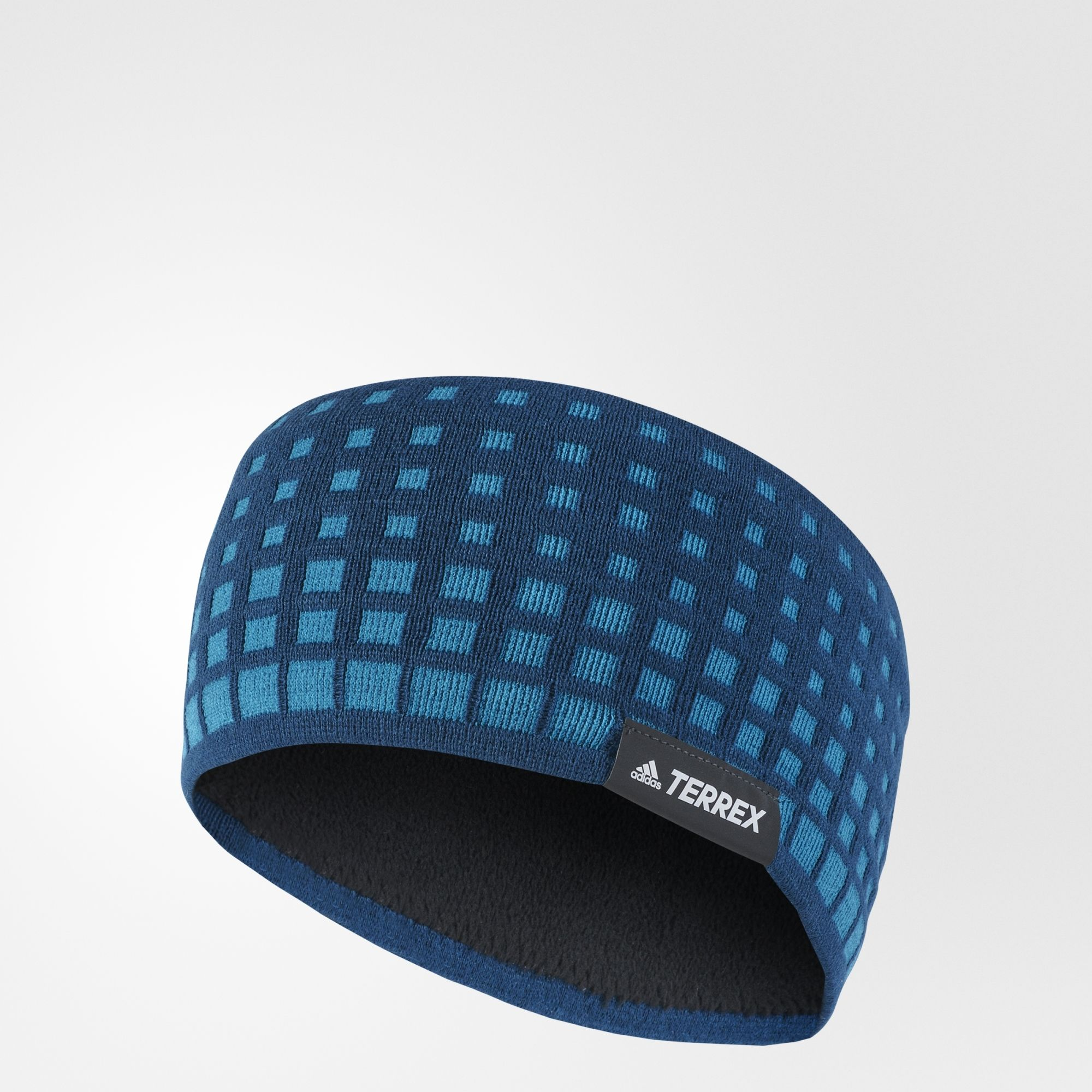 adidas Olympic Headband in Blau