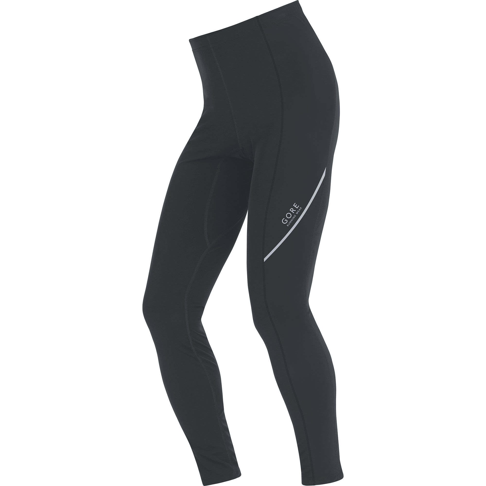 Gore Essential Thermo Tights in Schwarz