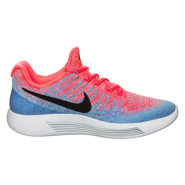 Nike Lady LunarEpic low Flyknit 2 in Blau Pink