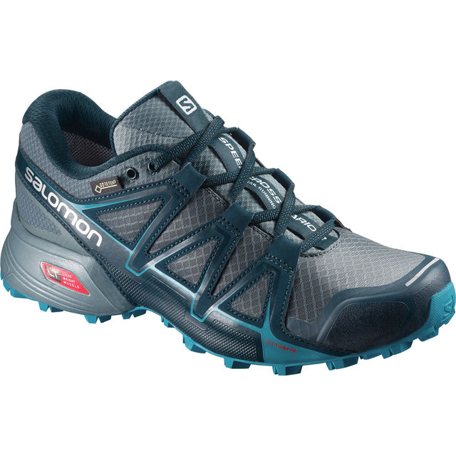 Salomon Speedcross Vario 2 GTX w in Grau Blau
