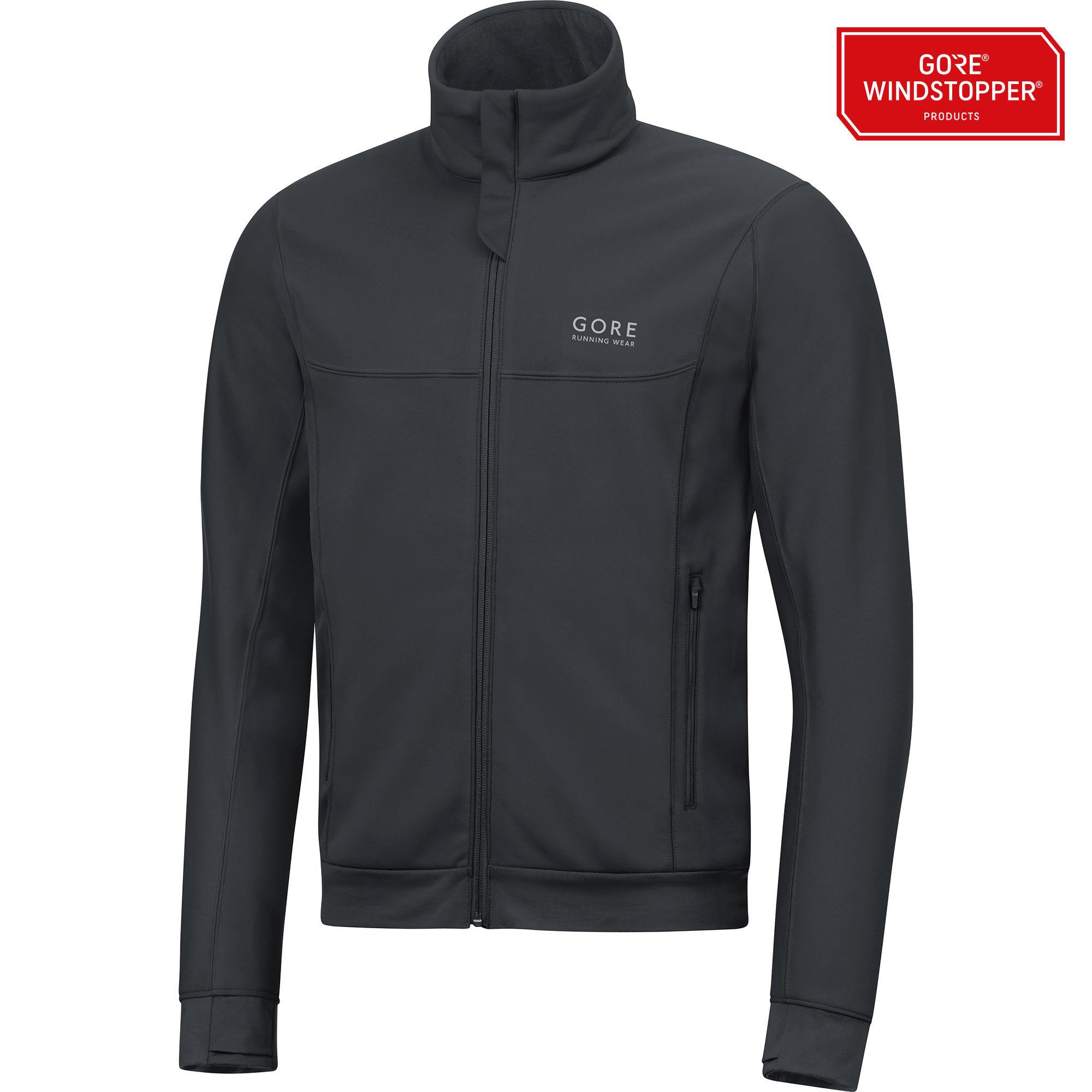 Gore Essential GWS Jacket in Schwarz