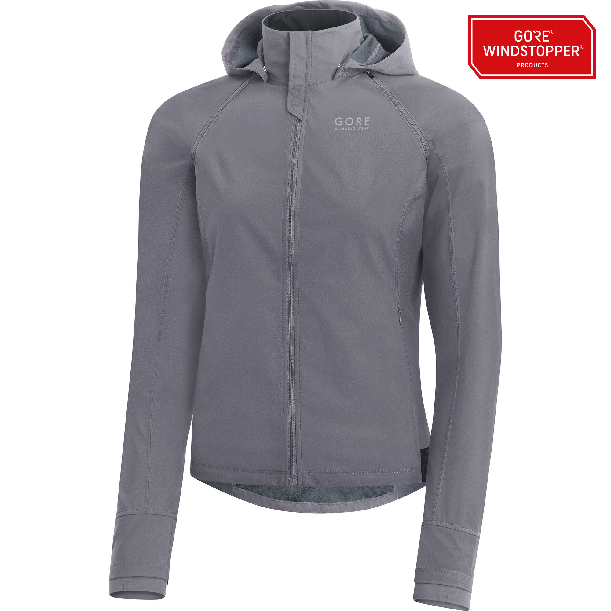 Gore Essential Lady GWS Zip-off Jacket in Grau