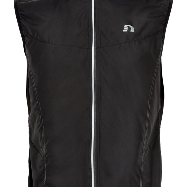 Newline Base Tech Vest in Schwarz