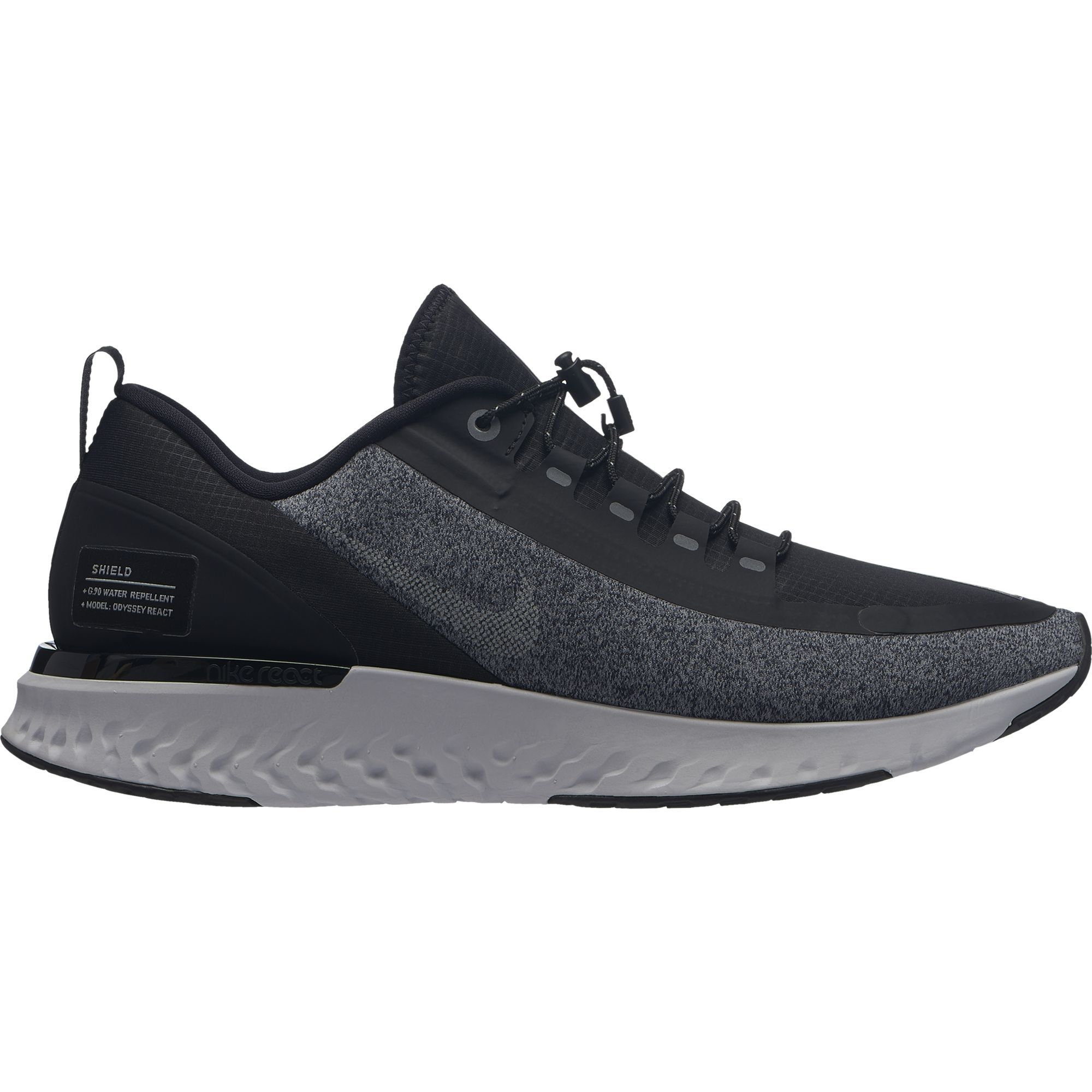 Nike Lady Odyssey React Shield in Schwarz