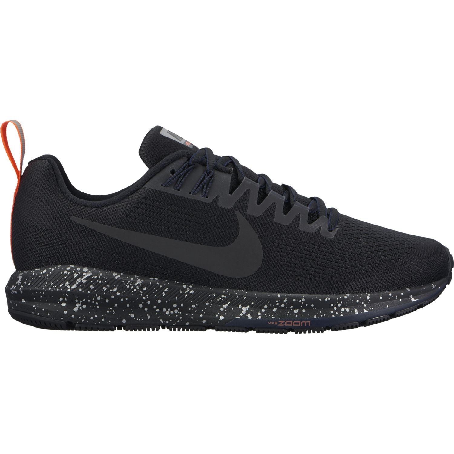 Nike Lady Air Zoom Structure 21 Shield in Schwarz