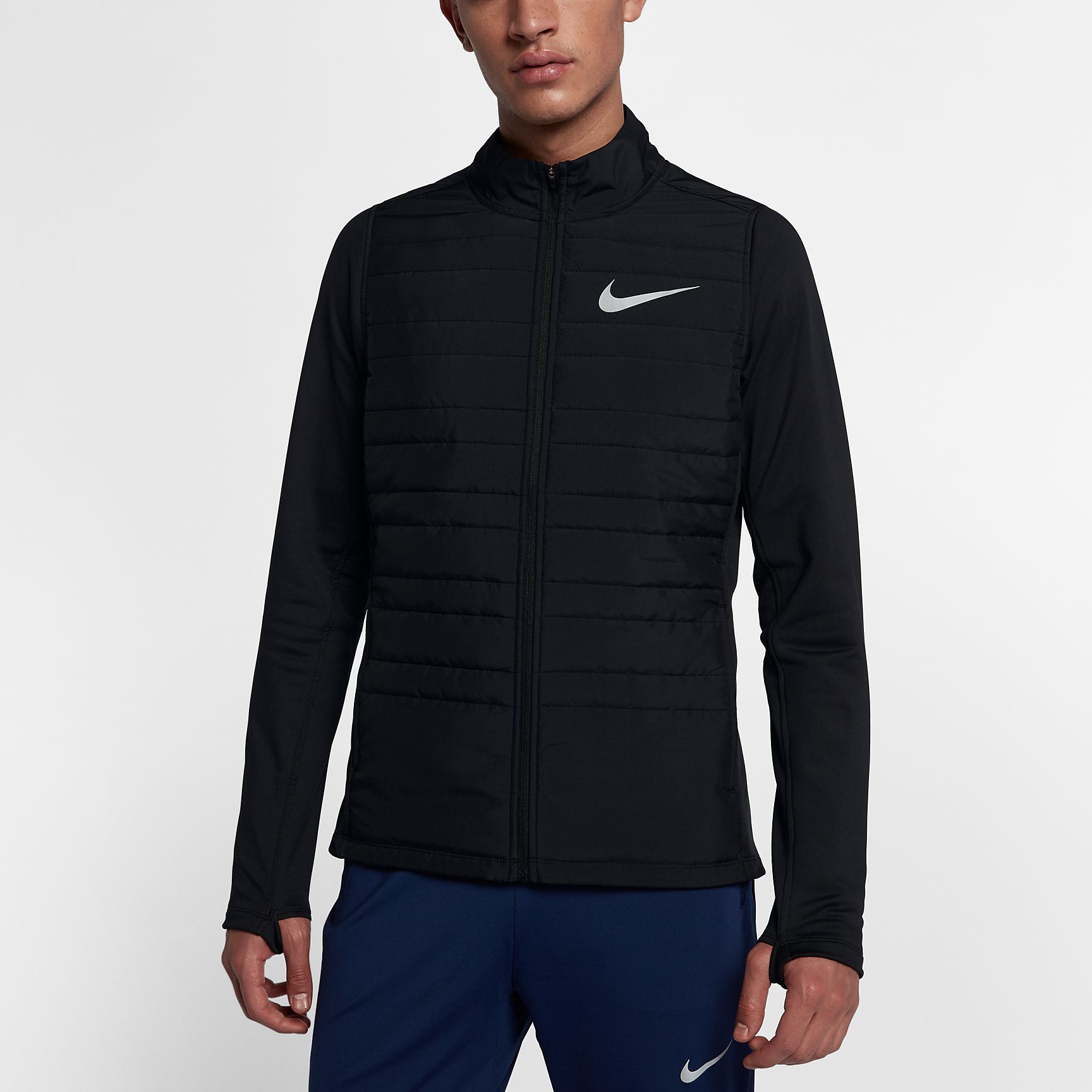 Nike Essential Jacket Filled in Schwarz