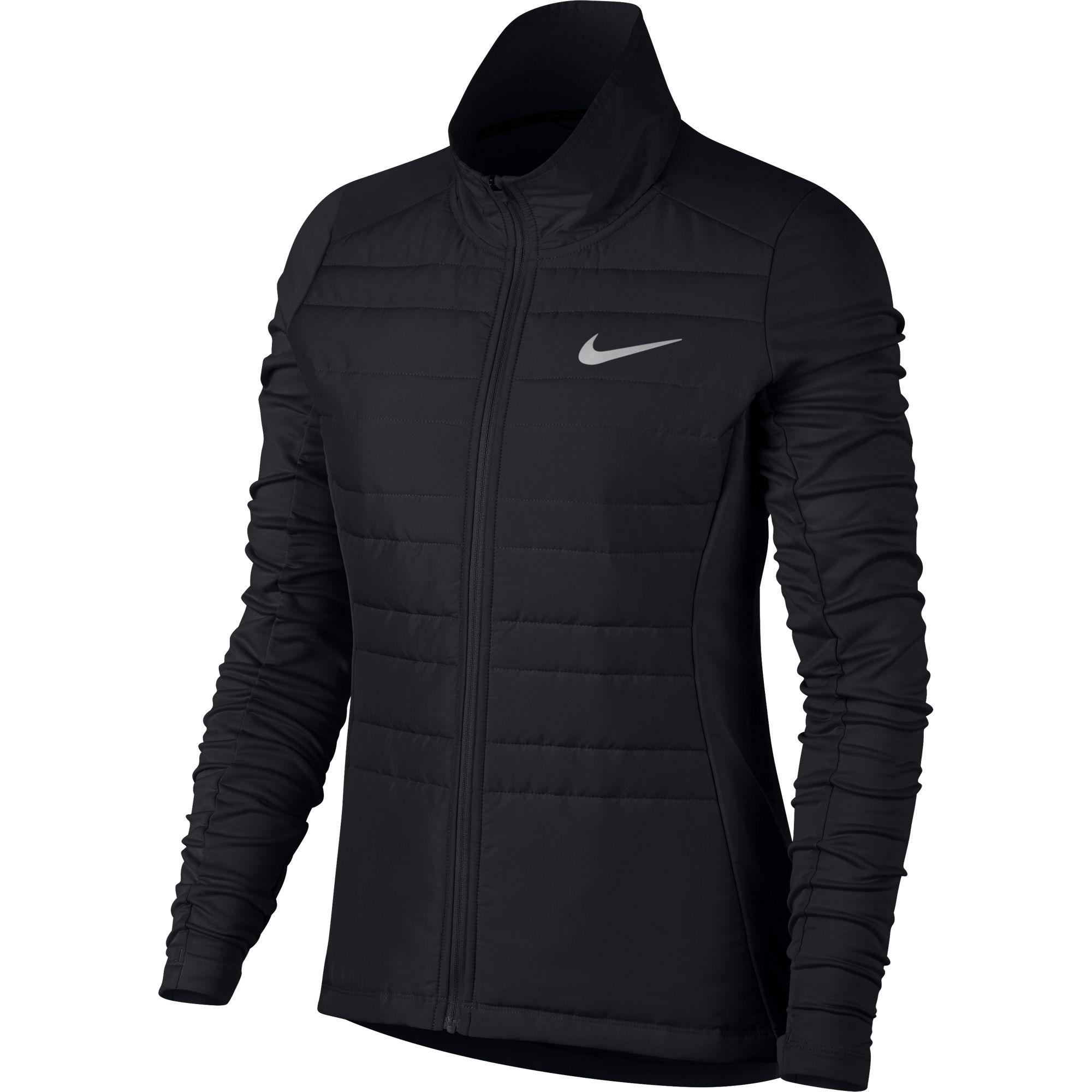 Nike Lady Essential Jacket Filled in Schwarz