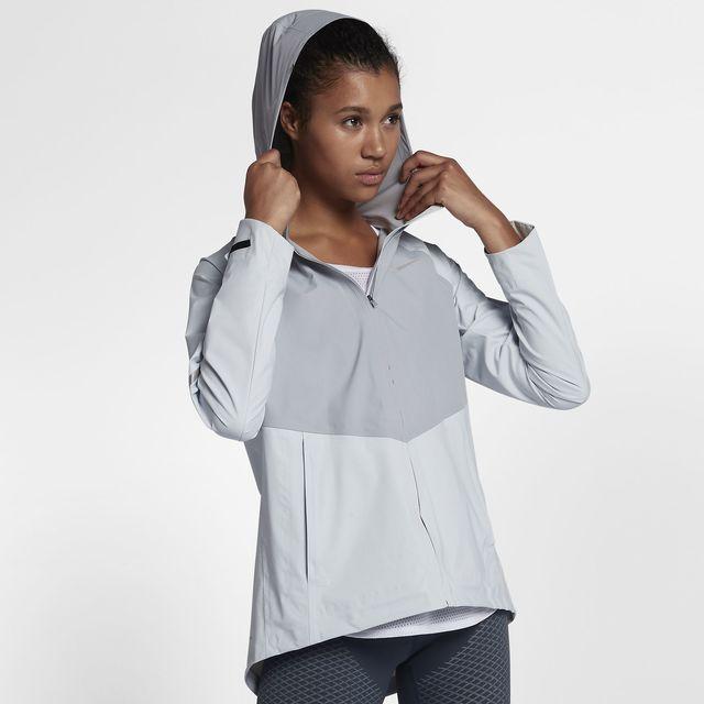Nike Lady Zonal AeroShield in Grau Silber