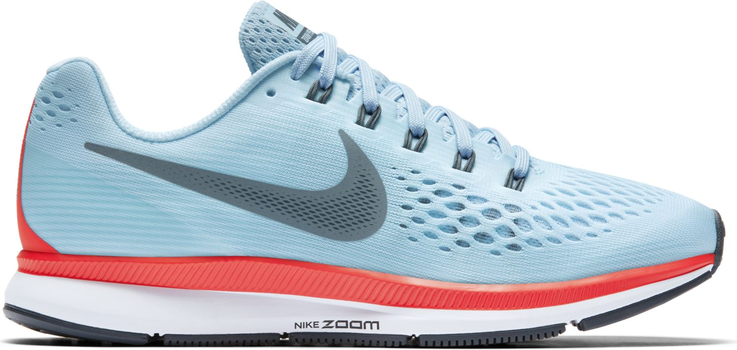 Nike Lady Air Zoom Pegasus 34 in Blau Grau