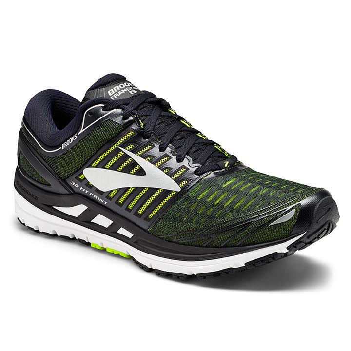Brooks Transcend 5 in Schwarz Gelb
