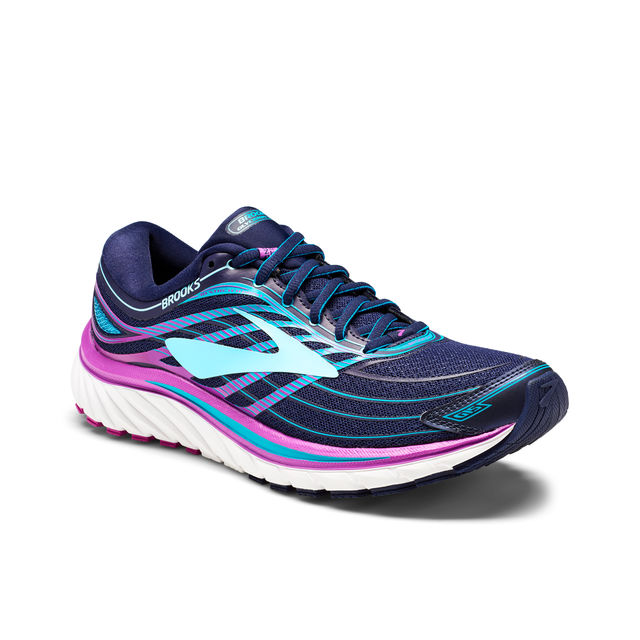 Brooks Lady Glycerin 15 in Blau Lila
