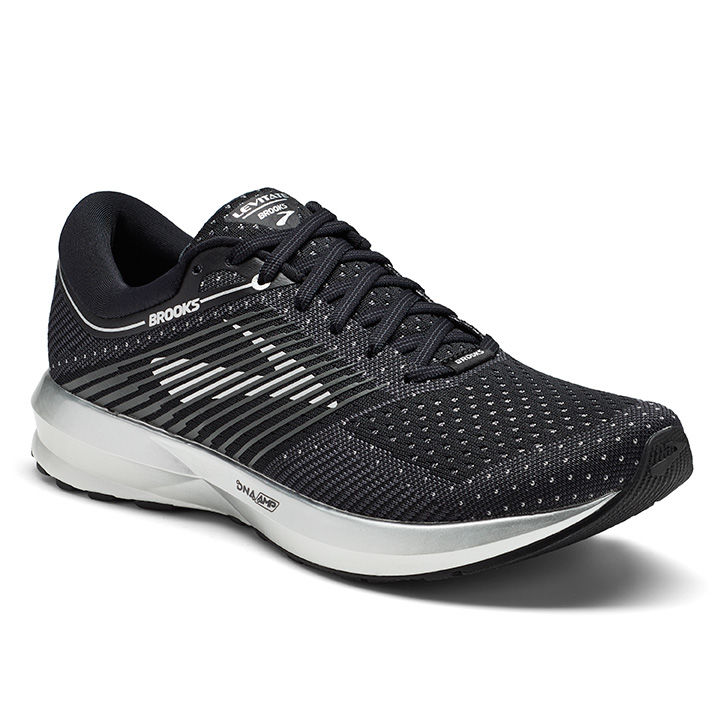 Brooks Lady Levitate in Schwarz Silber