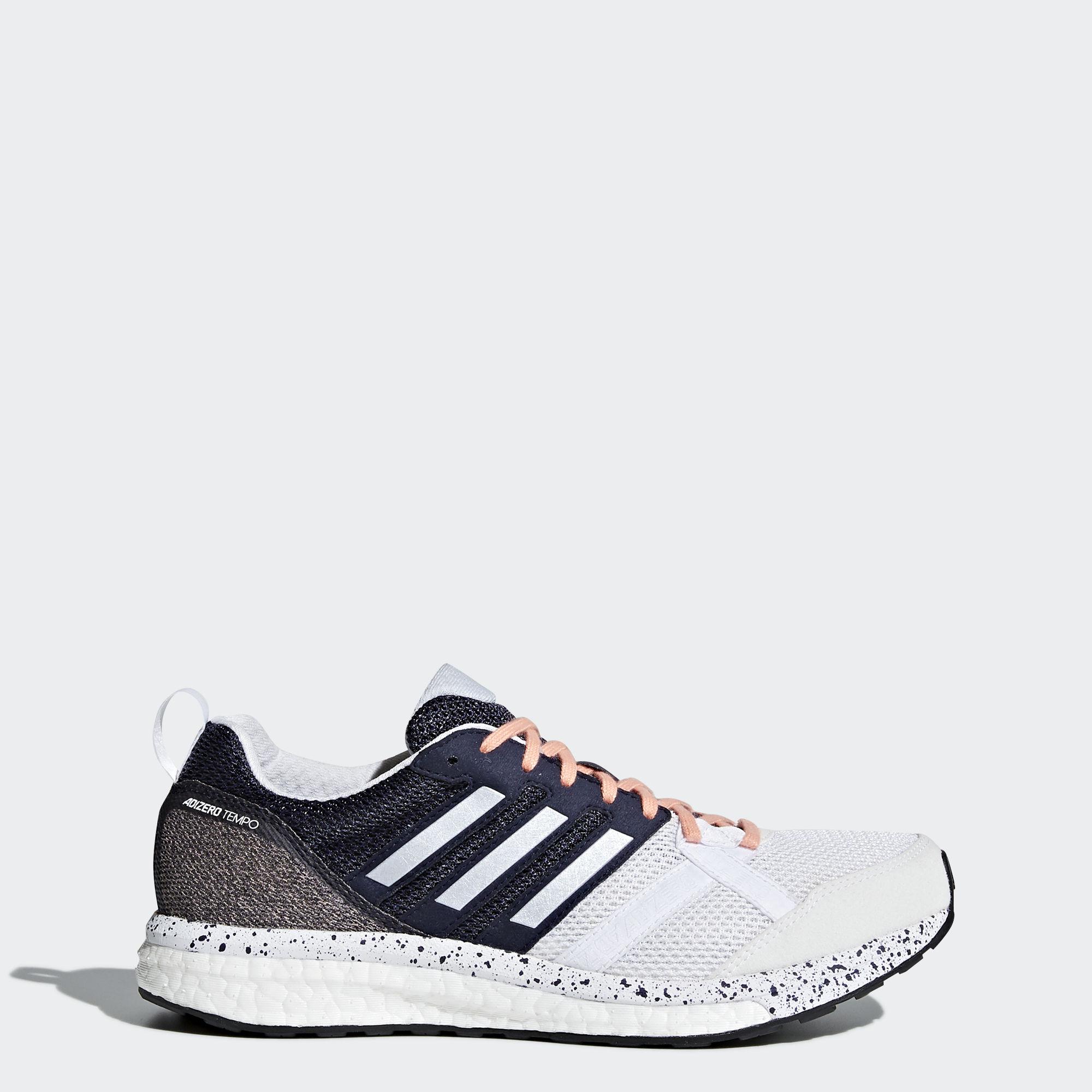 adidas Adizero Tempo 9 w in Weiß Schwarz 4606381a9