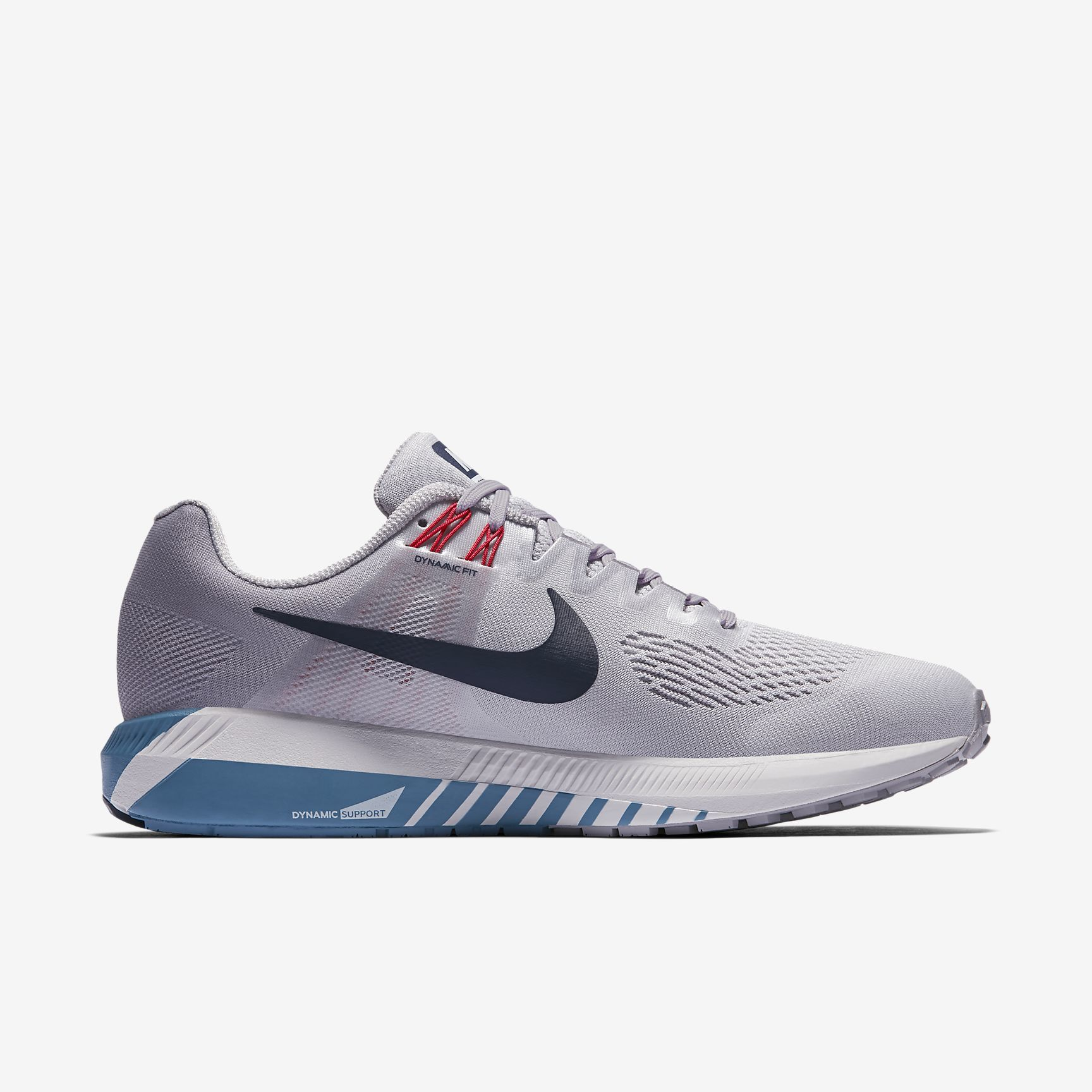Nike Air Zoom Structure 21 in Grau Blau
