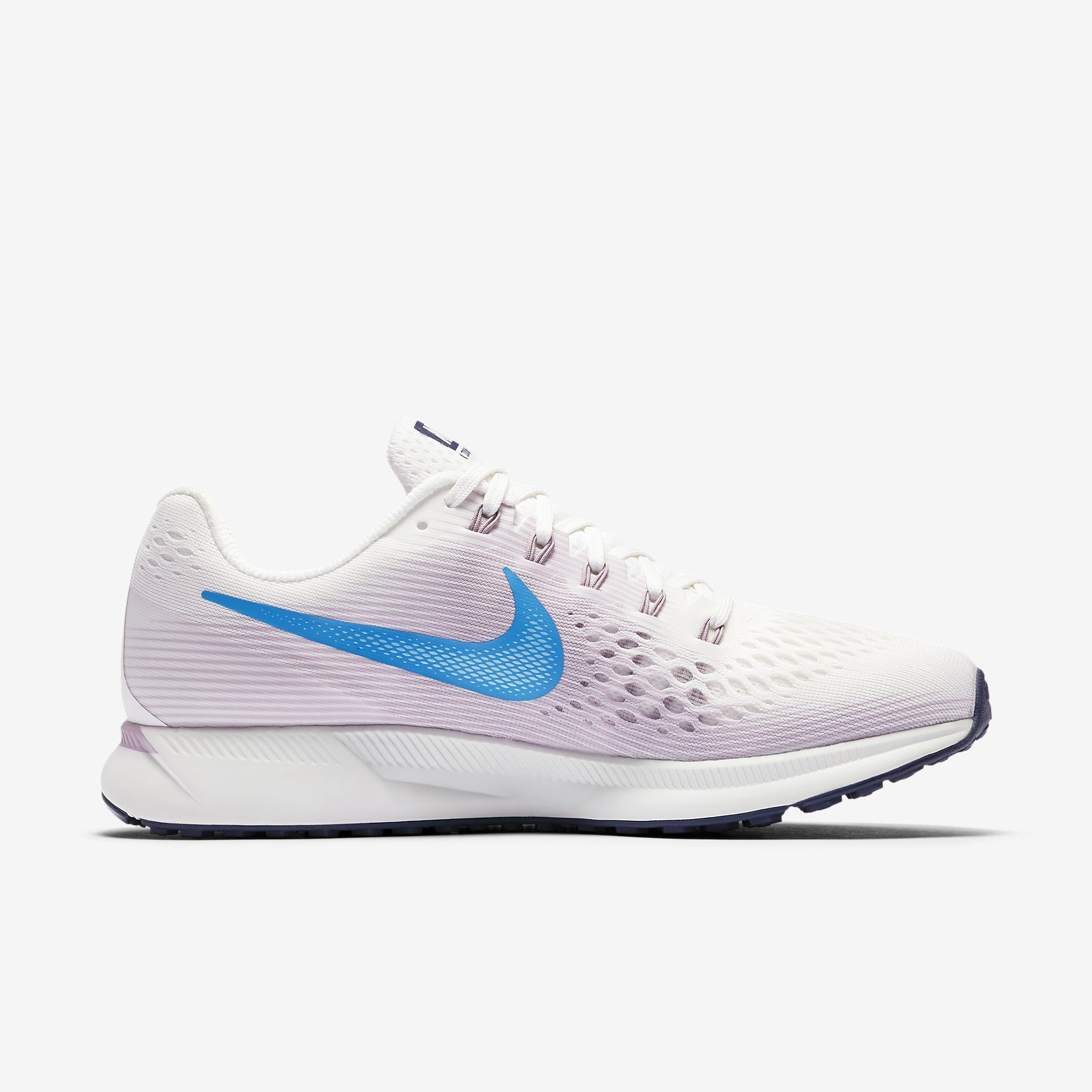 Nike Lady Air Zoom Pegasus 34 in Grau Blau