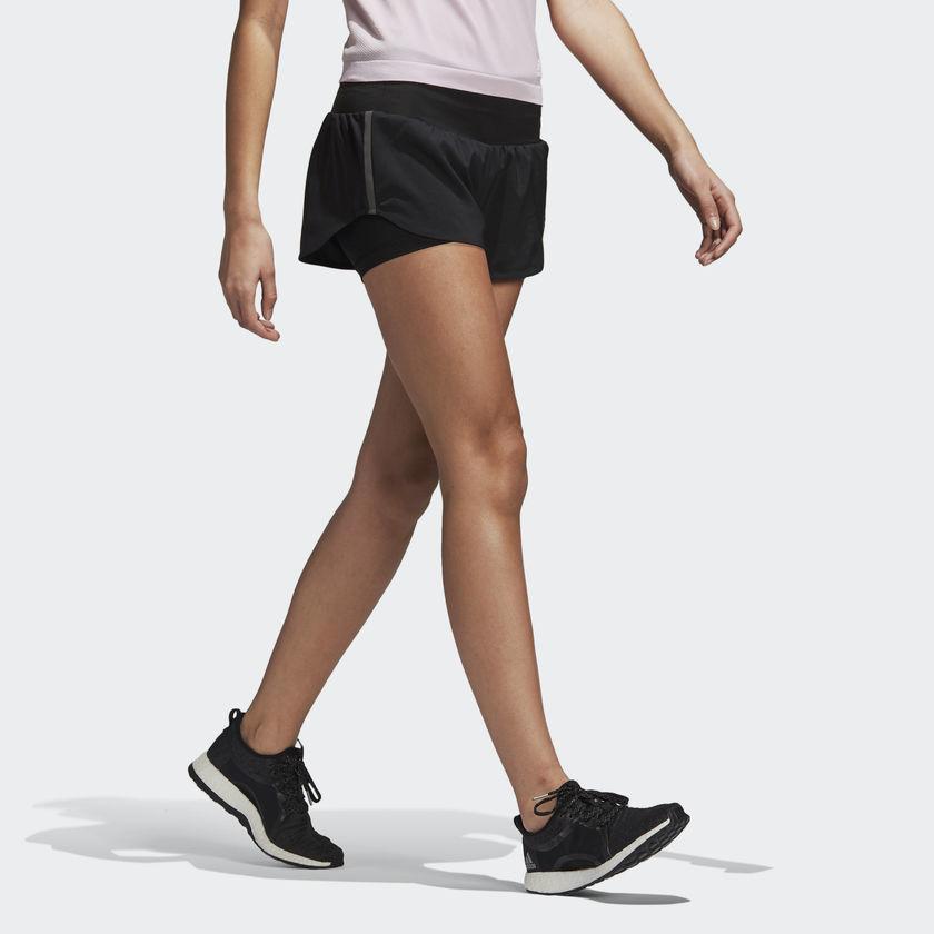 adidas 2in1 Ultra Shorts w in Schwarz