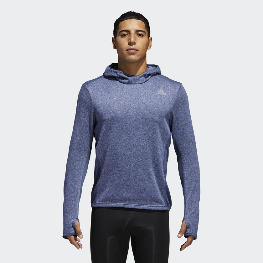 adidas Response Astro Hoodie in Blau