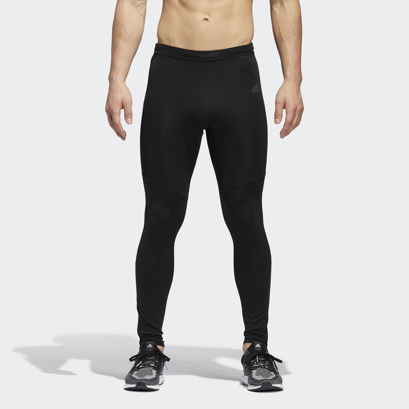 adidas Response Long Tight in Schwarz