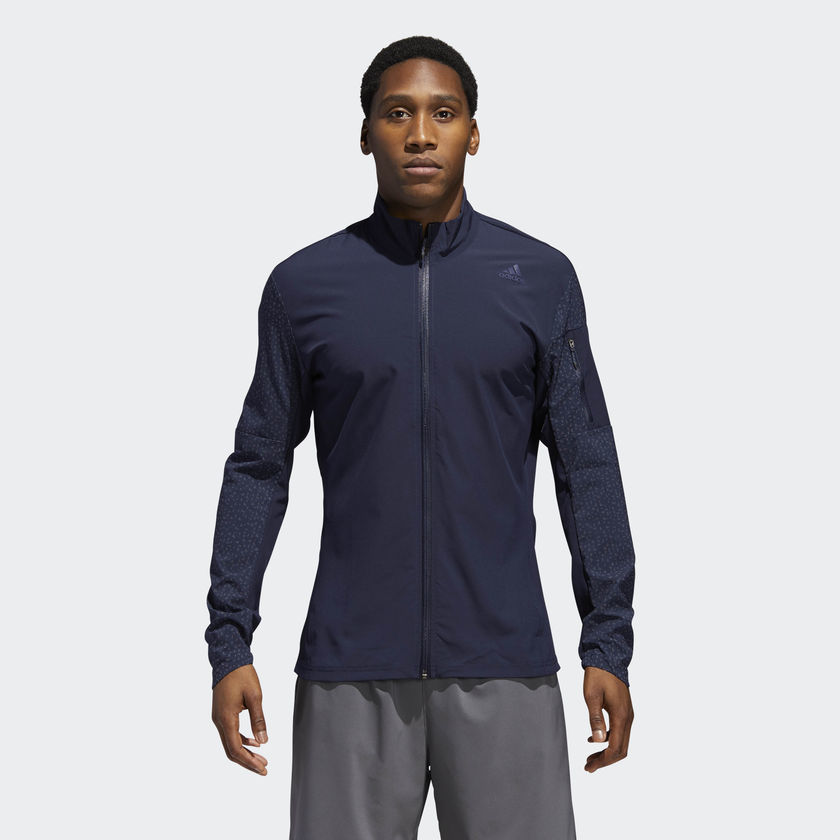adidas Supernova Storm Jacket in Blau