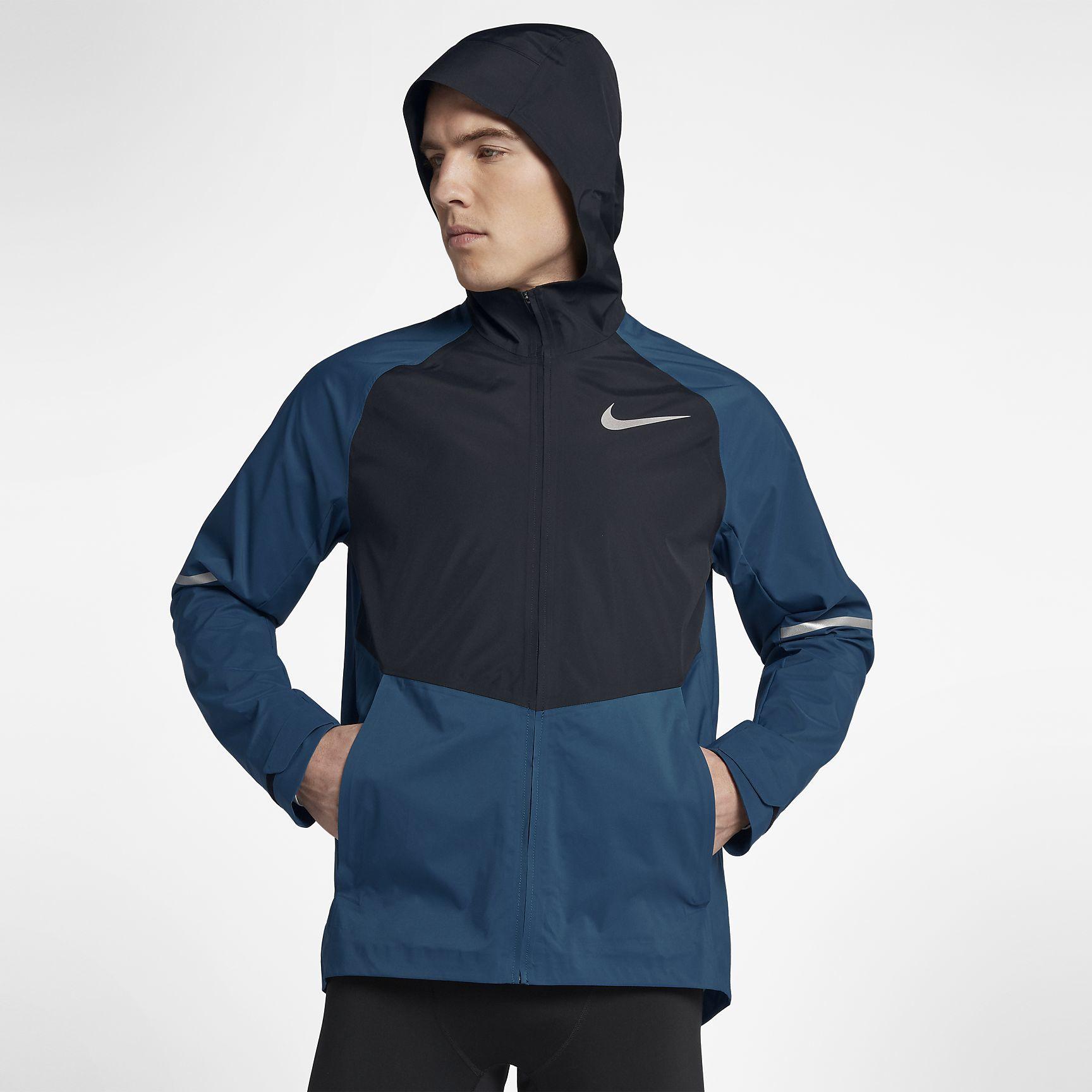 Nike Zonal AeroShield in Blau Schwarz