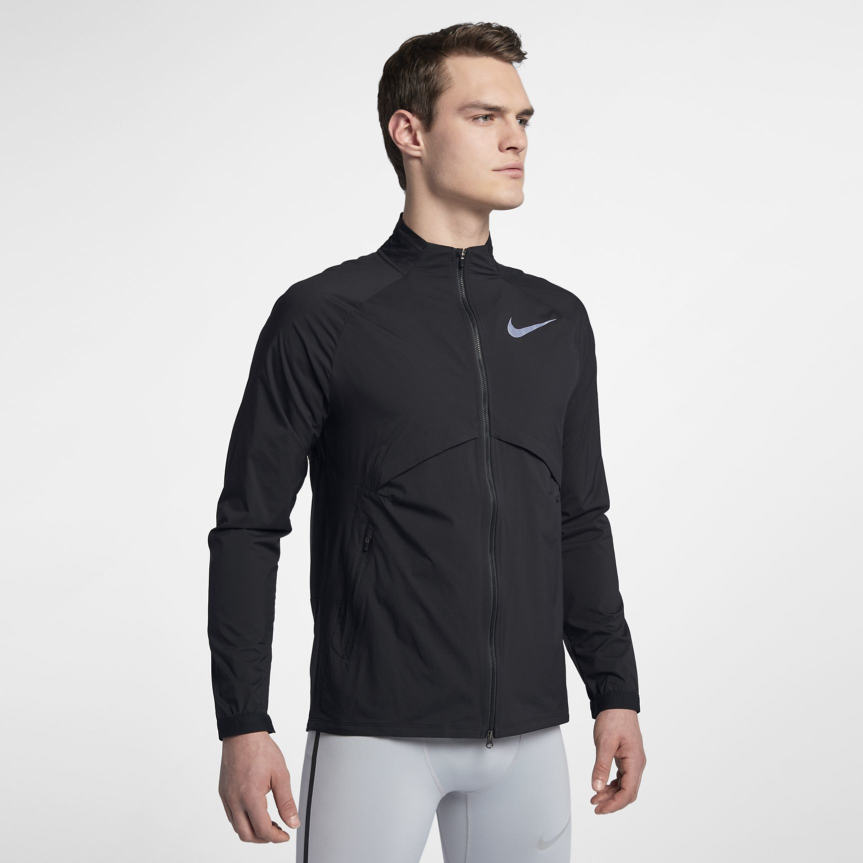 Nike Shield Convertible in Schwarz