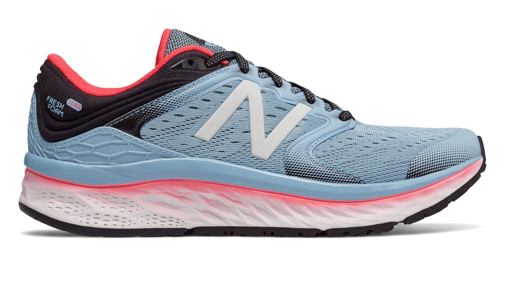 New Balance Lady Fresh Foam 1080 v8 B in Hellblau
