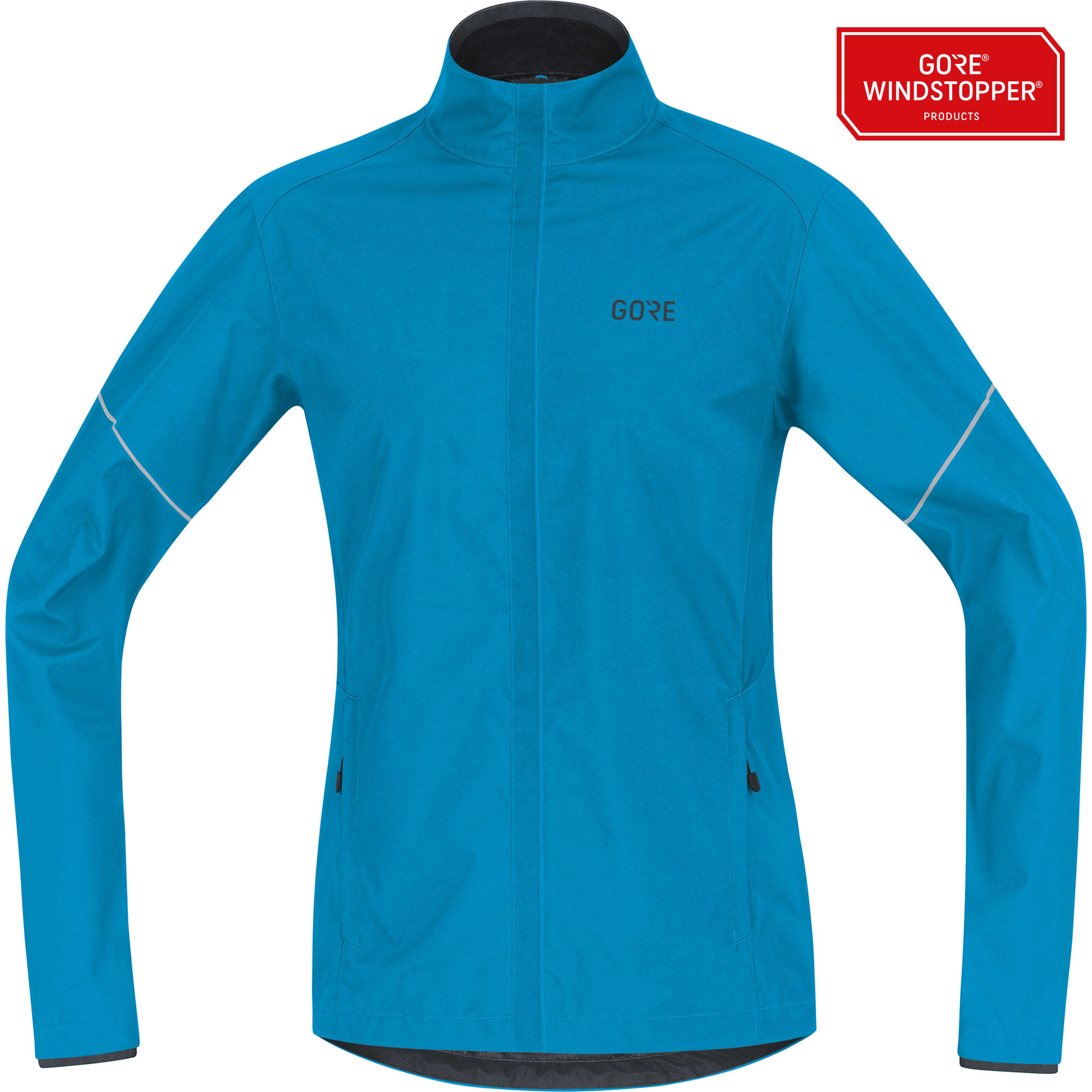 Gore R3 Essential Partial GWS Jacket in Blau