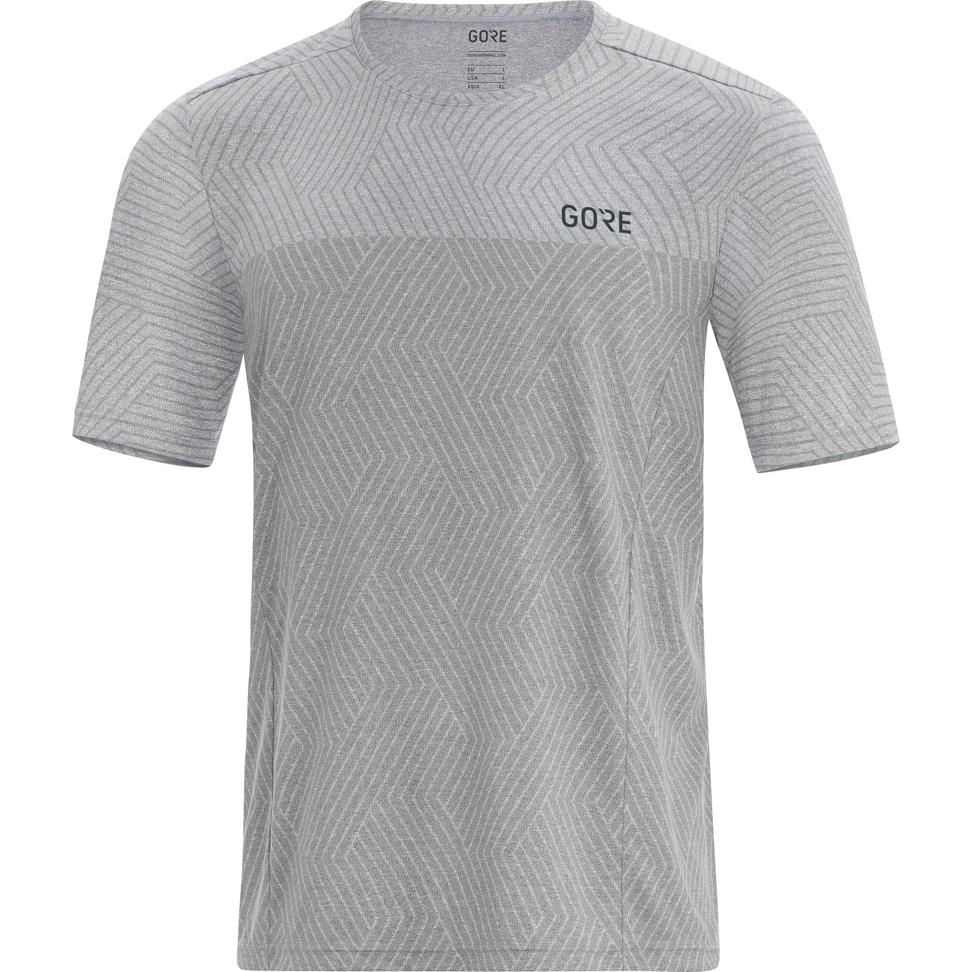 Gore R3 Optiline Shirt in Grau