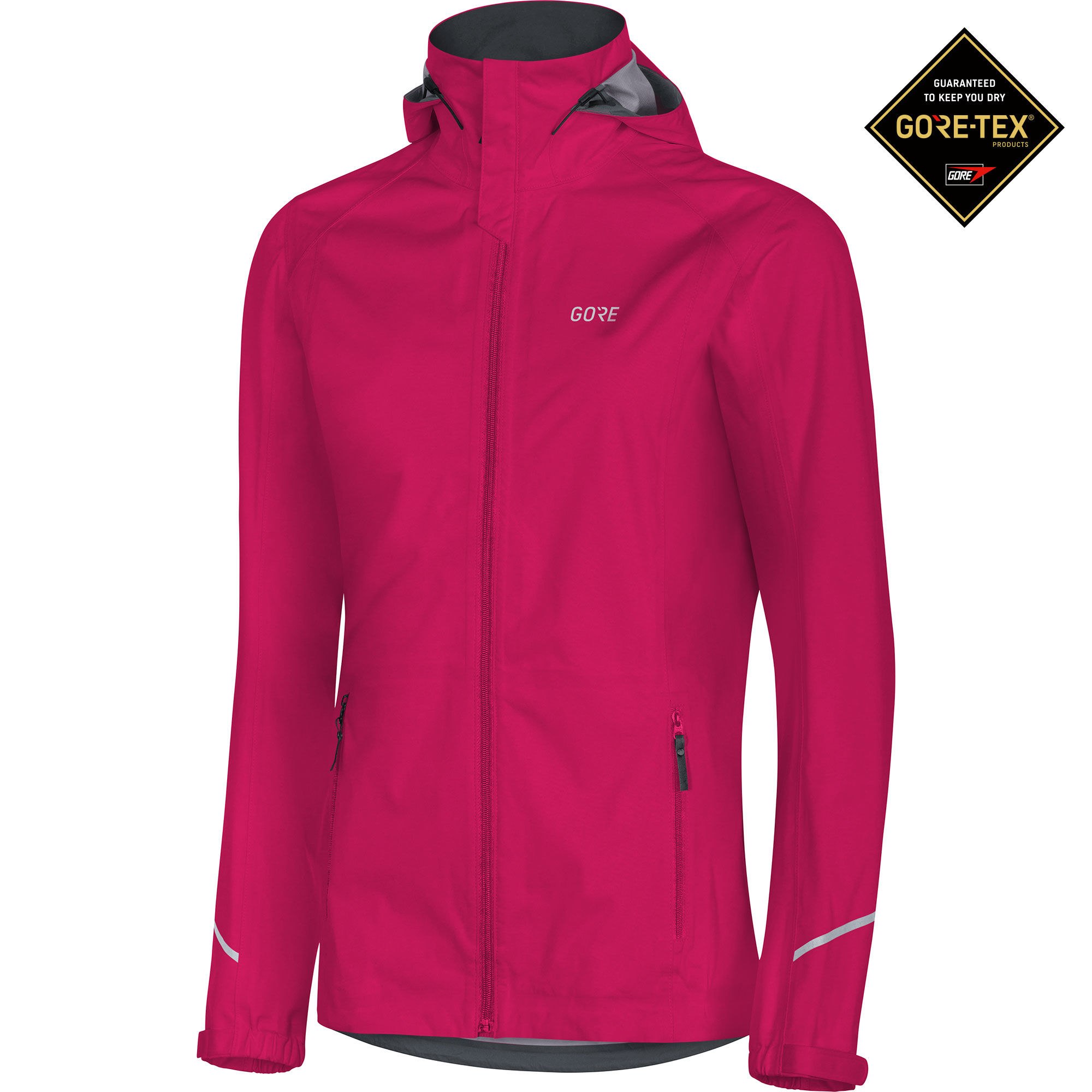 Gore R3 Lady GTX Active Hooded Jacket in Pink