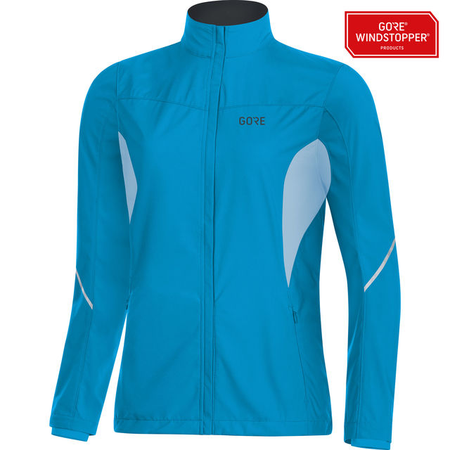 Gore R3 Lady Partial GWS Jacket in Blau