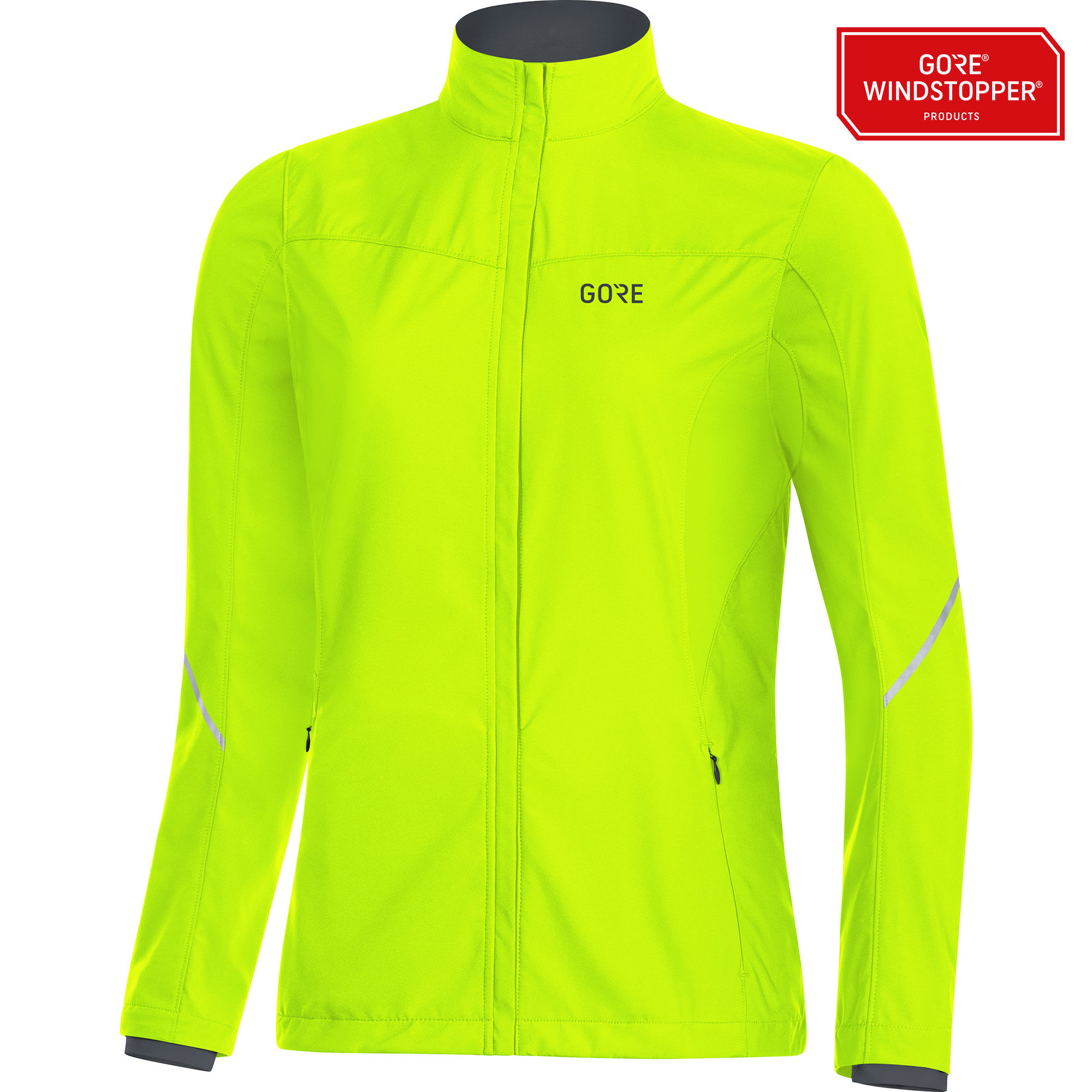 Gore R3 Lady Partial GWS Jacke in Neon Gelb