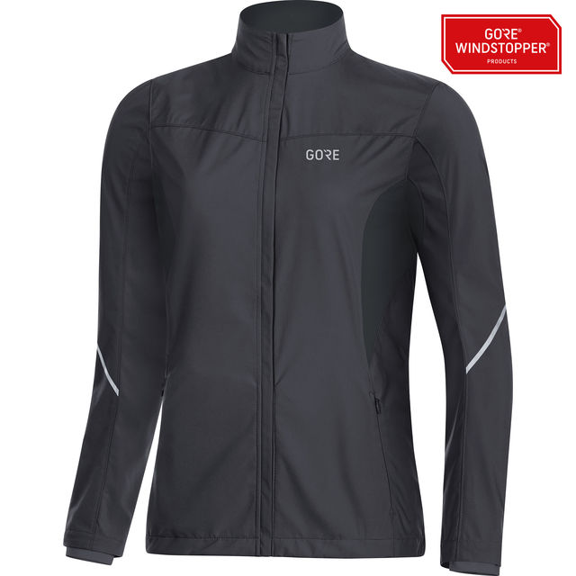 Gore R3 Lady Partial GWS Jacket in Schwarz