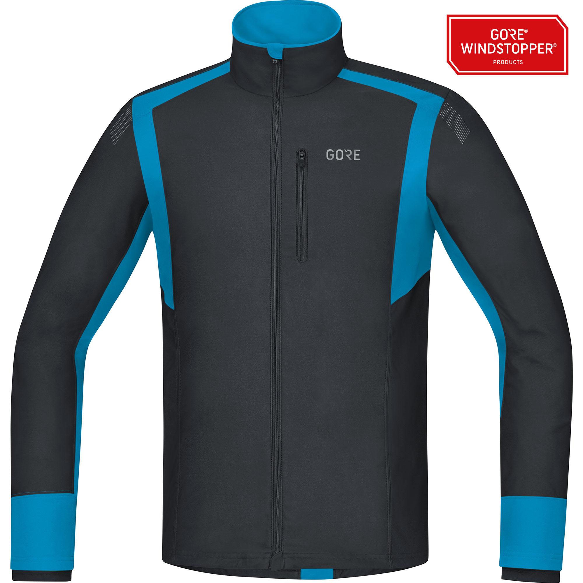 Gore R5 GWS Shirt Langarm in Schwarz Blau