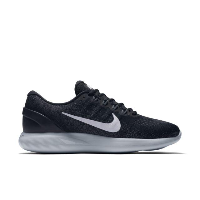 Nike LunarGlide 9 in Schwarz