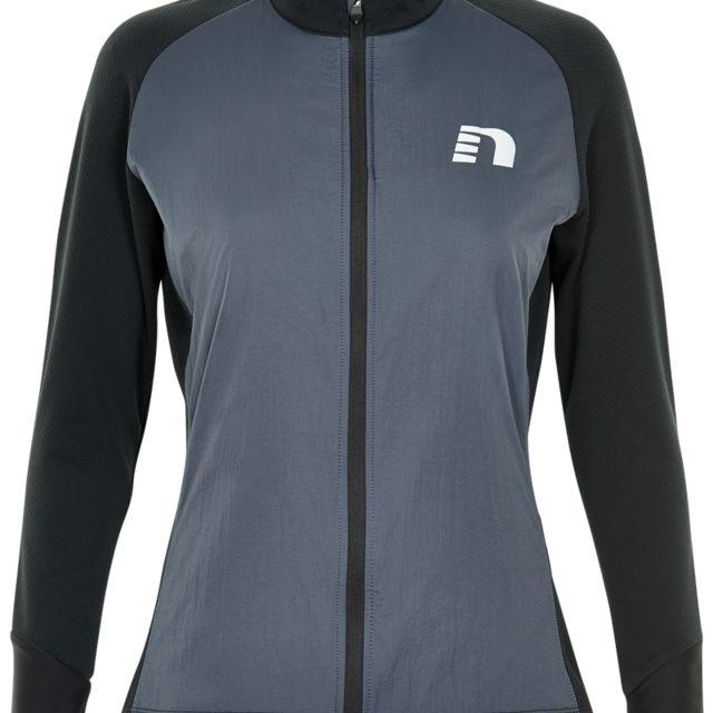Newline Lady Iconic Comfort Jacket in Schwarz Grau